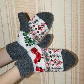 86aacf078a968 Купить шерстяные носки оптом | Перчатки и варежки оптом от ...