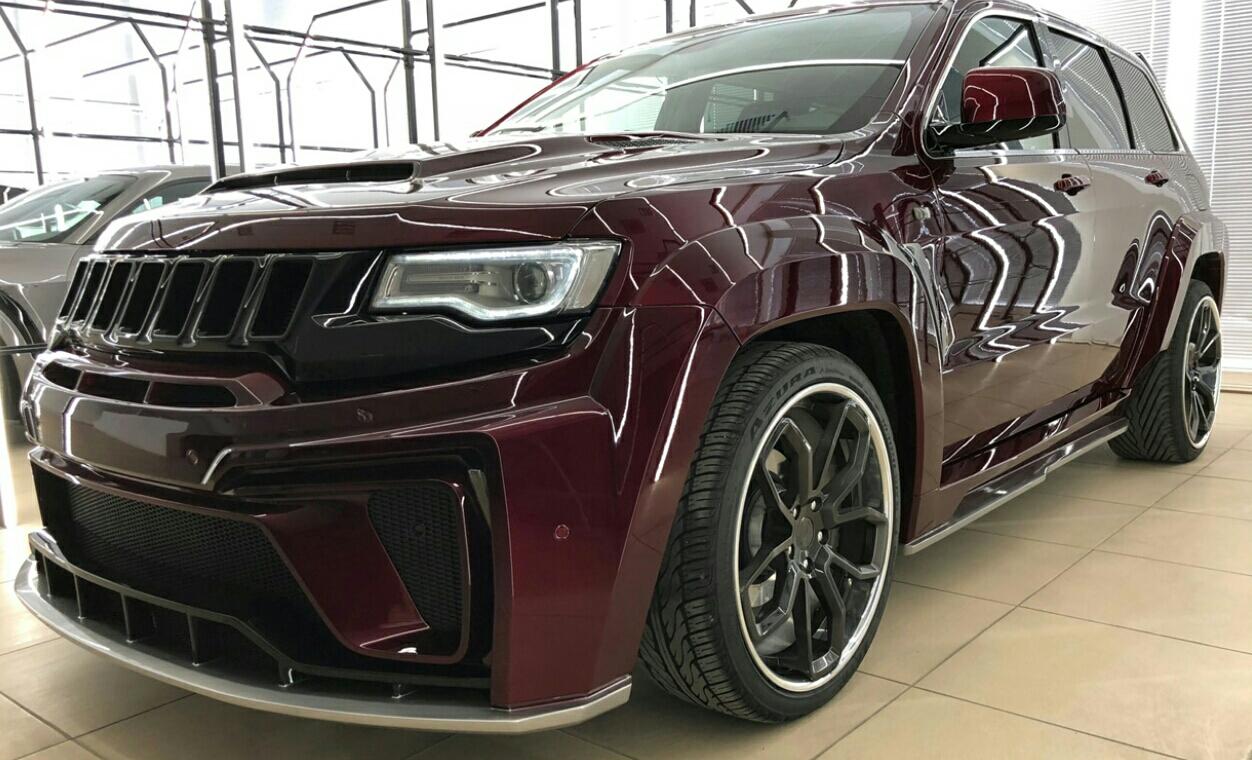 MaxiCustoms - Premium Tyrannos bodykit for Jeep Grand