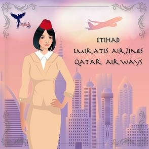 Arab Airlines: Emirates Airlines, Qatar Airways, Etihad Airways and
