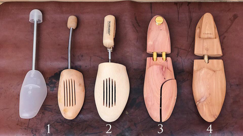 Типы формодержателей для обуви