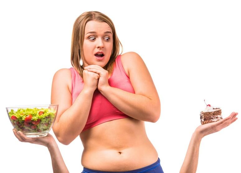 Толстушка хочет похудеть